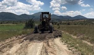 Arazi Yollarında Bakım Onarım Çalışmaları Yapılıyor