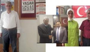 Yaşar Bilgiç Akparti İlçe Başkanlığına aday oldu