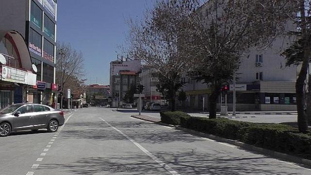 Tam Kapanmada Üçüncü Gün Sokaklar Bomboş